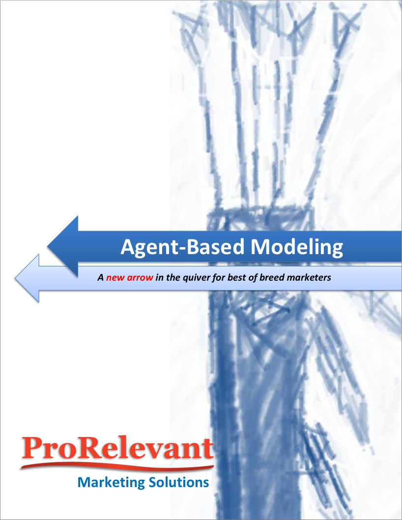 white paper for marketers - Adding agent-based marketing will improve ROI ang marketing results