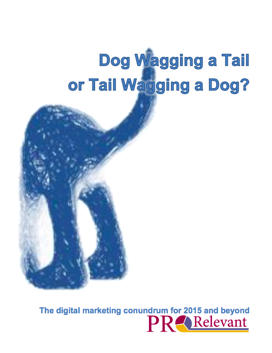 white paper for marketers - Dog Wagging or Wagging a Dog?
