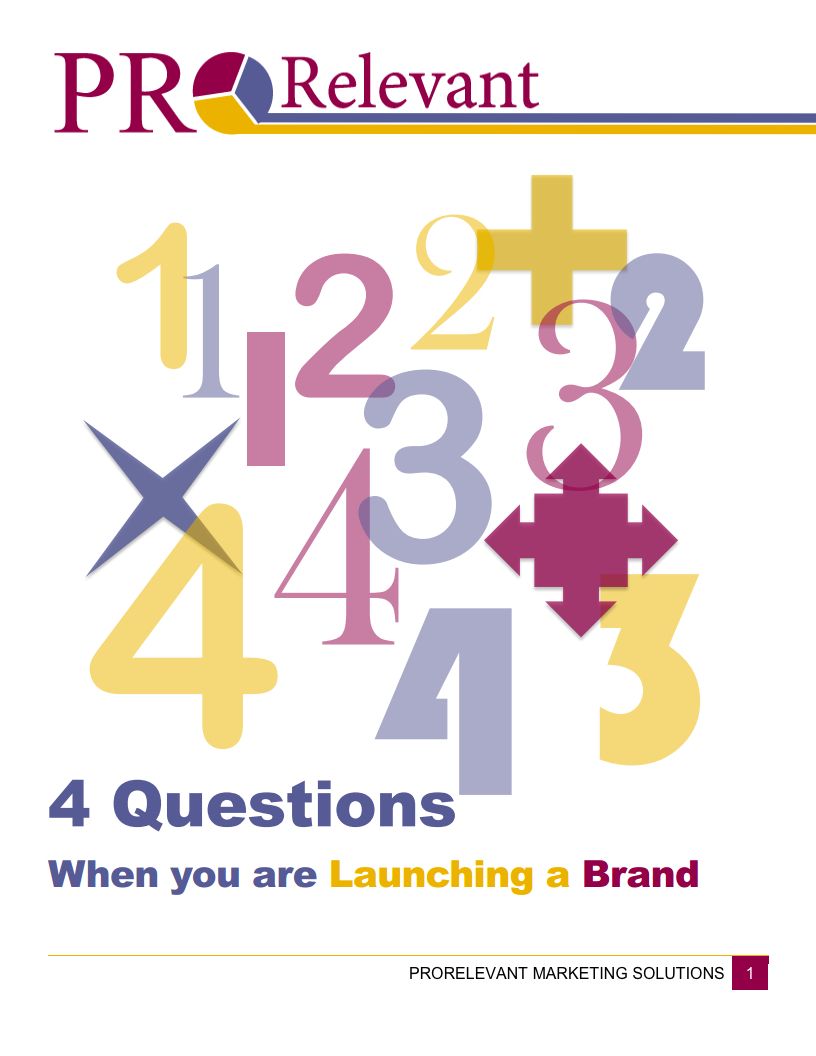 white paper for marketers - What are the 4 most important factors to consider when launching a new brand?