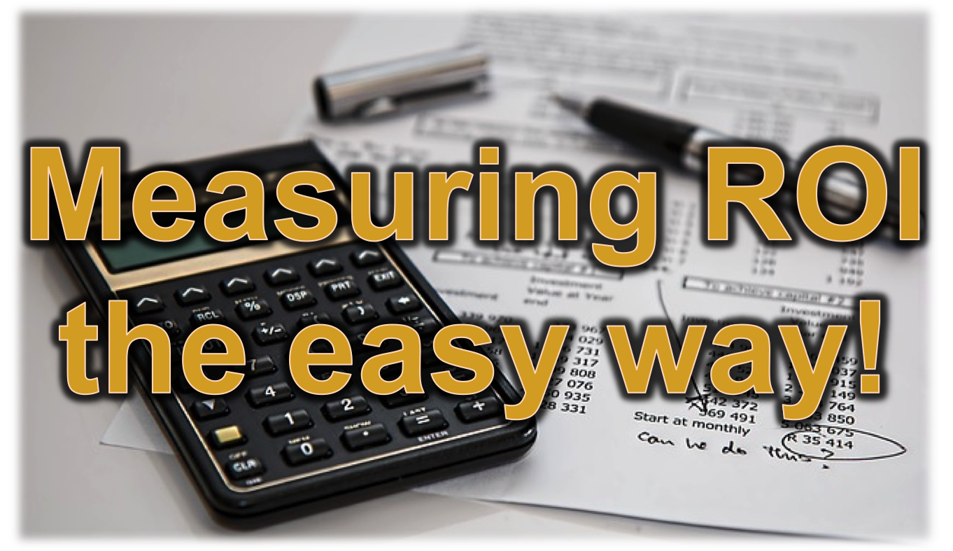 ROI Calculation can be achieved using 3 simple steps.